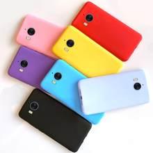 Capa de silicone para celulares huawei y5, capa macia de cor pastel para modelos huawei y5 2017 Mya-l22 Mya-u29 huawei y6 2017 y5 2017 capa