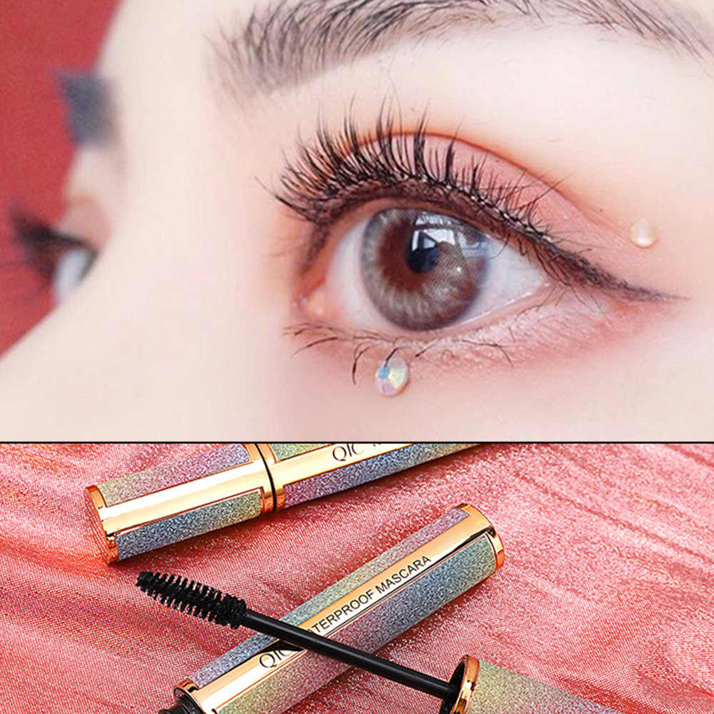 1 pièces ciel étoilé Mascara pour Extension de cils noir épais allongement des cils 4D mince friser imperméable cosmétiques chauds TSLM1