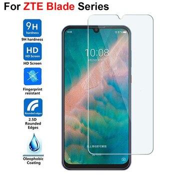 Перейти на Алиэкспресс и купить 9H 2.5D Закаленное стекло для zte Blade V10 V10 VITA Red Magic 3 HD прозрачная защитная пленка для zte AXON 9 10 Pro 5G