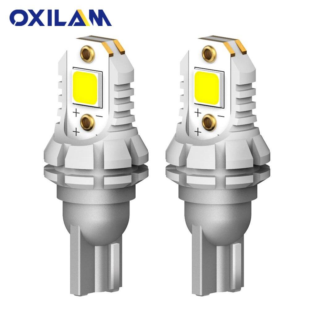 OXILAM 2 шт. 1400 лм супер яркие T15 W16W светодиодные без ошибок 5050SMD 921 912 светодиодные лампы для автомобиля задние фонари CANBUS 6500K белый