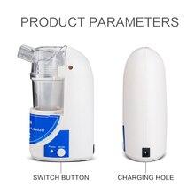 Портативный ингалятор, машина для бытовой медицинской помощи, автоматический ультразвуковой ингалятор для детей и взрослых, медицинское оборудование от кашля