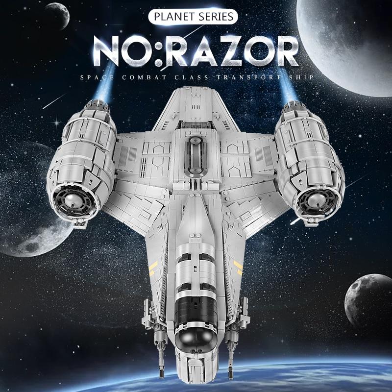 MOULD KING 21023 The Starship Razor Model Building Blocks
