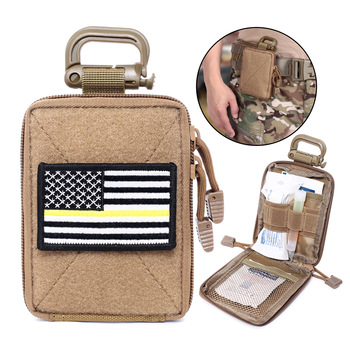 Tactical Molle EDC Pouch Range Bag Medical Organizer Pouch Military Wallet Small Bag Outdoor Hunting Accessories Vest Equipment 1