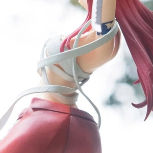 Image 4 - Fairy Tail 2 Edition Anime Erza Scarlet Doll PVC Action Figure Sexy Girl Figurine Collectible Model Decor Toys Gifts 18cm