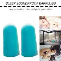 Soft Foam Ear Plugs Tapered Travel Sleep Noise Prevention Earplugs Noise Reduction For Travel Sleeping