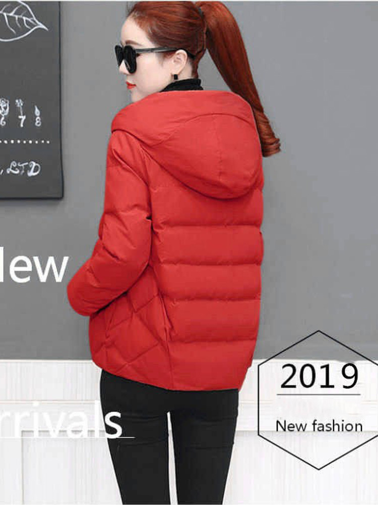 Plus size women winter jacket cotton loose short parkas women outwear designer warm hooded female coat jaqueta feminina DR1192 (3)