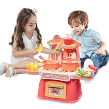 Kitchen Set for Kids 2 to 4 Years Old Girls Boys Birthday Gifts Pretend Play Educational Toys for Children 3 Years Kitchen Toys