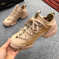 Women Running Shoes Real Leather Luxury Brand Men's Sneakers Man Brand Sports Run Top Quality Casual Fashion Women's Sport
