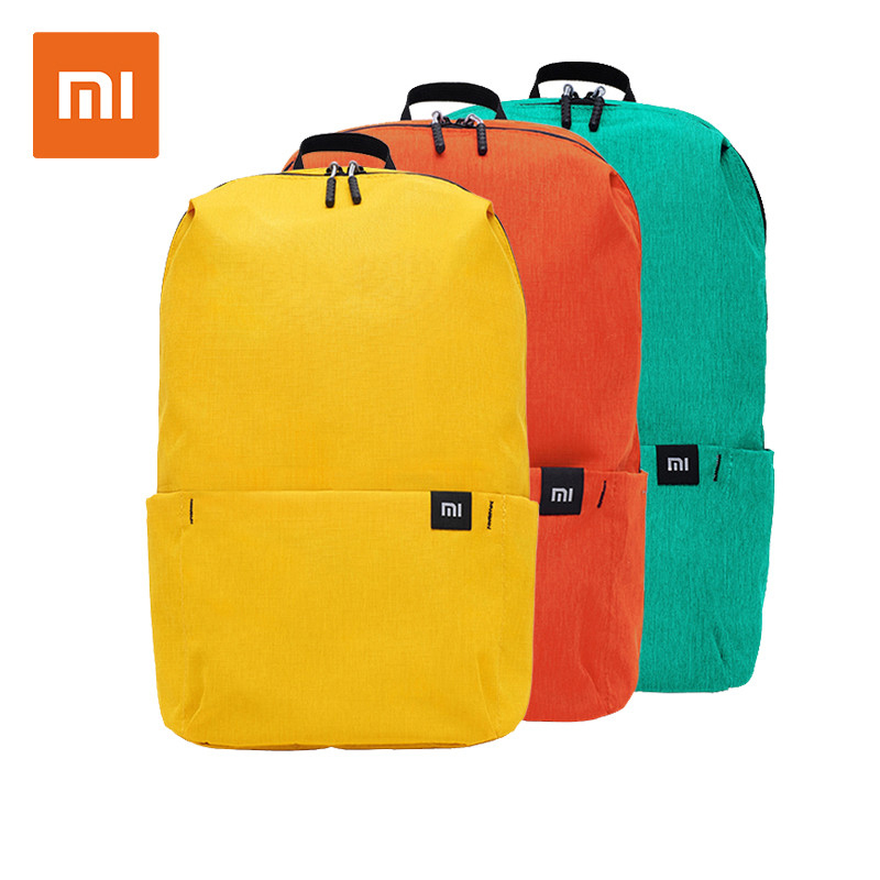 Original Xiaomi Backpack 10L Bag Urban Leisure Sports Chest Pack Bags Light Weight Small Size Shoulder Unisex Rucksack image