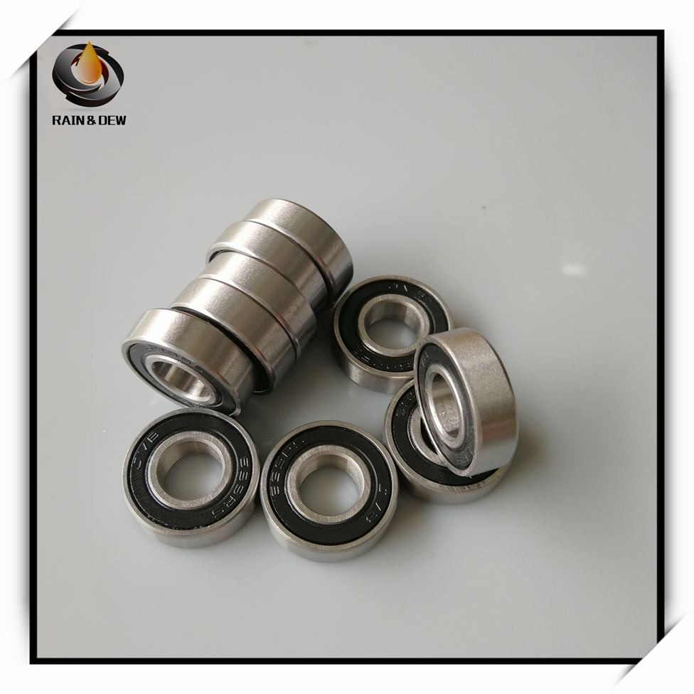 2Pcs <font><b>608</b></font>/<font><b>9</b></font> Hybrid Ceramic Bearing 9x22x7 mm <font><b>ABEC</b></font>-7 Industry Motor Spindle <font><b>608</b></font>/9HC Hybrids Si3N4 Ball Bearings 3NC <font><b>608</b></font>/9RS image