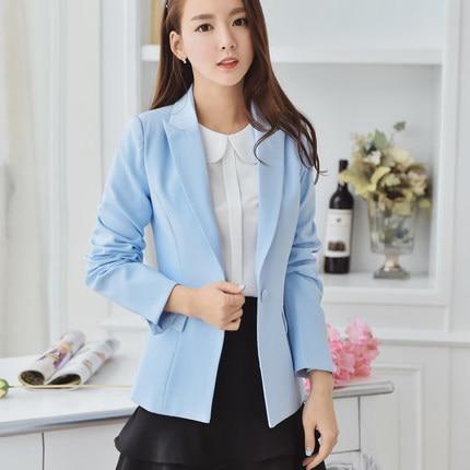 New 2020 Autumn Women Blazer Long Sleeve Elegant Slim Jackets Womens Outwear Korean Spring Fashion Female Suits LX1392