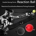 Teloon Headset Tennis/Boxen Reaktion Ball Kick Boxing Gute für Kampf Geschick und Hand-augen-koordination Training Bälle K015SPA