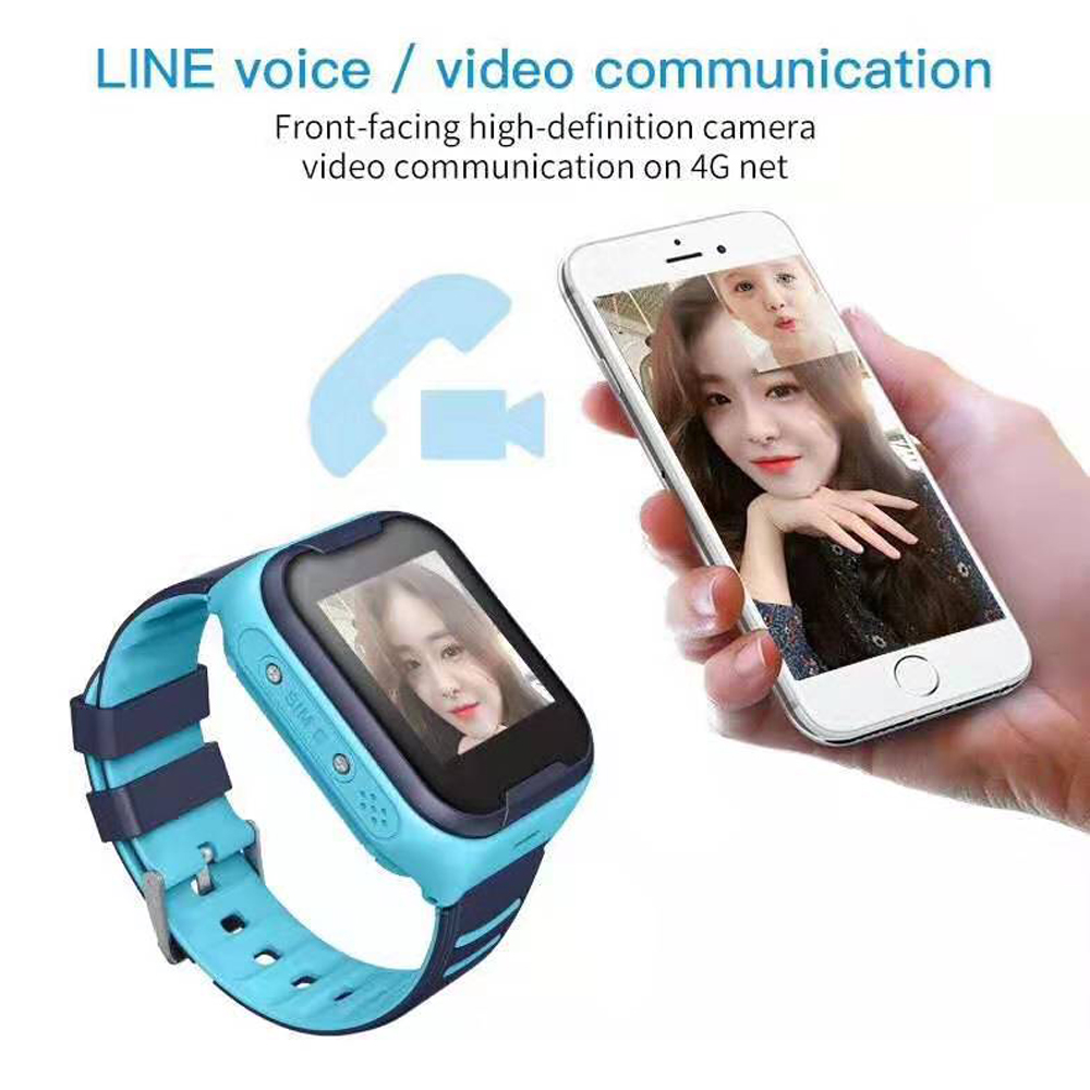 LEMFO G4H Kids Smart Watch 4G GPS WIFI Tracking Video Call Waterproof SOS Voice Chat Children Watch Care For Baby Boy Girl