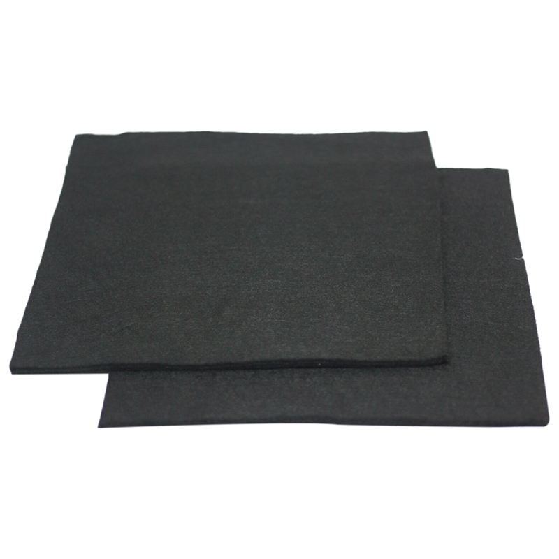 2 Pcs Carbon Fiber Welding Blanket Torch Shield Plumbing Heat Sink Slag Fire 3X200X300mm