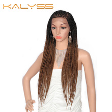 Kalyss Lace Front Twist Braids Wigs with Baby Hair 13x6