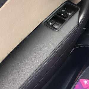 Sedan For VW Volkswagen Polo 2011 2012 2013 2014 2015 2016 Microfiber Leather Door Handle Armrest Cover Car accessories interior