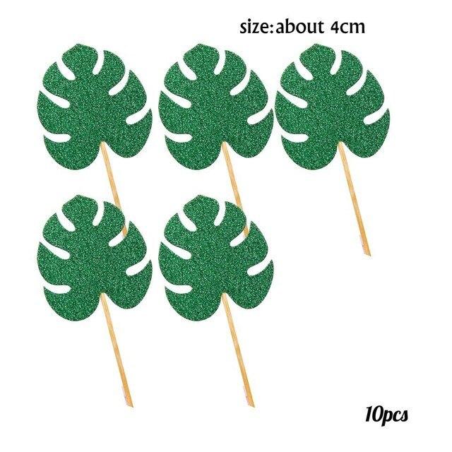 10pcs Bling Palm
