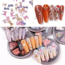 180 шт новогодние Блестки для ногтей 26 цветов кленовый лист