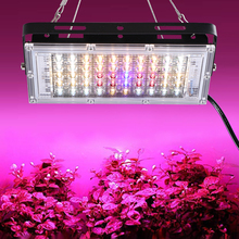 LEDGLE 150W LED Grow Lights Full Spectrum 50 LEDs Plant Light Red Blue White Panel Growing Lamps for Indoor Plants Hydroponics