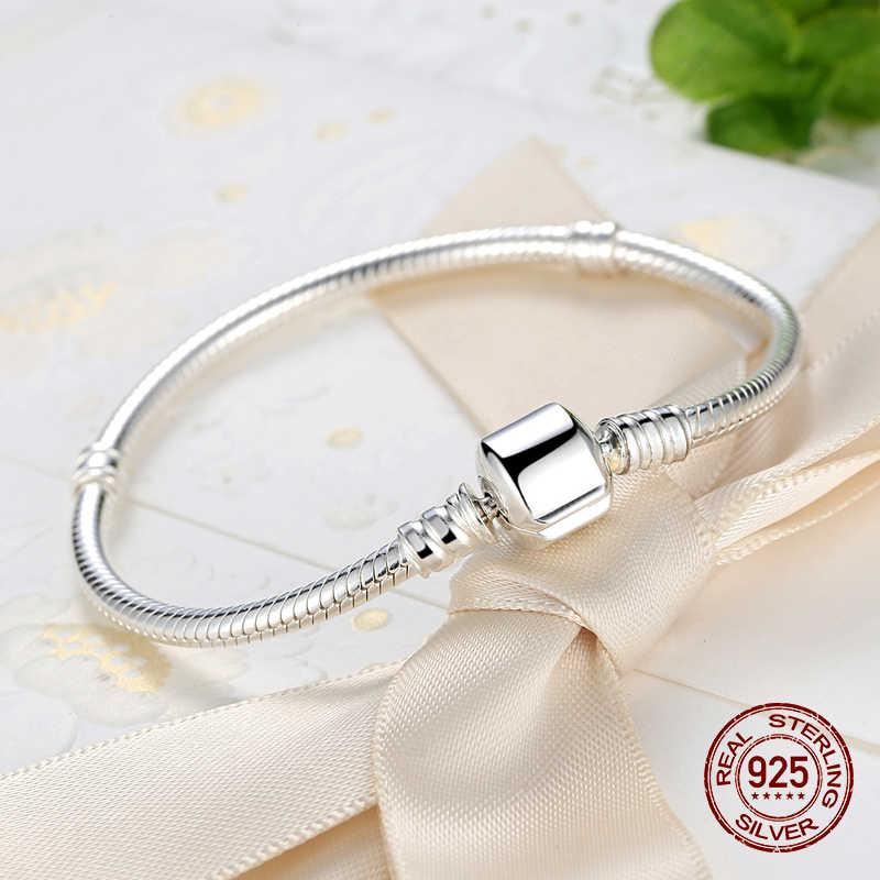 Grande vente 925 en argent Sterling collier Bracelet fête bijoux serpent os breloque collier Bracelet ensemble bijoux à bricoler soi-même ensemble pour les femmes