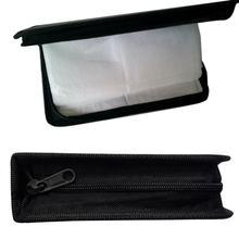 حافظة تخزين DVD من البولي يوريثان ، 80 قرص ، مع حامل أقراص مضغوطة ، حقيبة حمل ، منظم لـ VCD ، حامل جلد ، P6A5