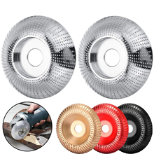 """Angle Grinding Wheel 3 3/10""""(84mm) Diameter 3/5"""" (16mm) Bore Tungsten Carbide Wood Sanding Carving Disc for Angle Grinder"""