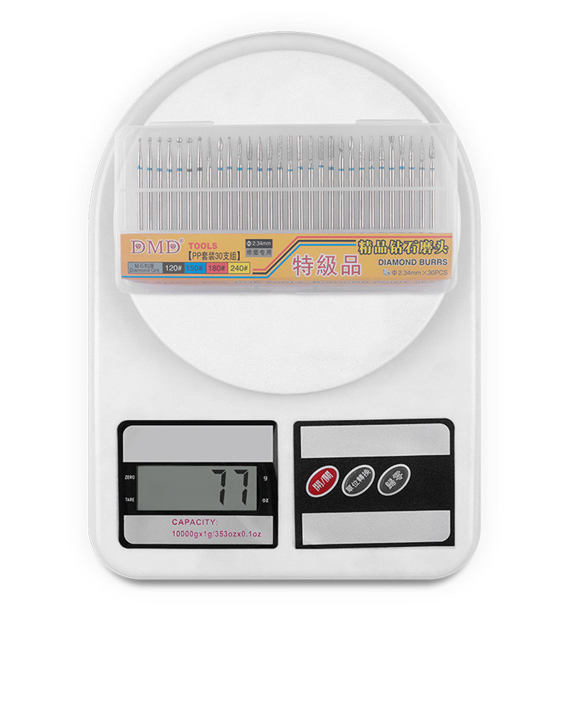 pedicure manicure cuticula limpo eletrica moinhos moedor 05