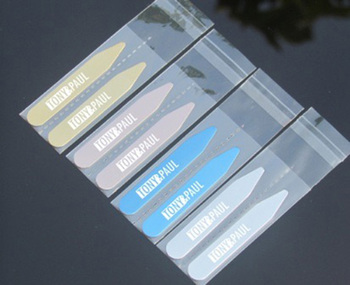 Personalized Stainless Steel Collar Bones Stiffeners Stays For Formal Shirts Custom Engraved name Logo Collar Stays Lettering shanh zun personalized customize engraved stainless steel metal collar bones shirt tabs stiffeners inserts golden gift for men