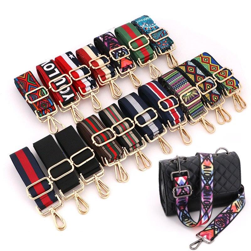 Handbag Straps For Crossbody Adjustable Bag Accessories Belt For Bag Accessories  Handbag Belt Wide Nylon Shoulder Bag Straps