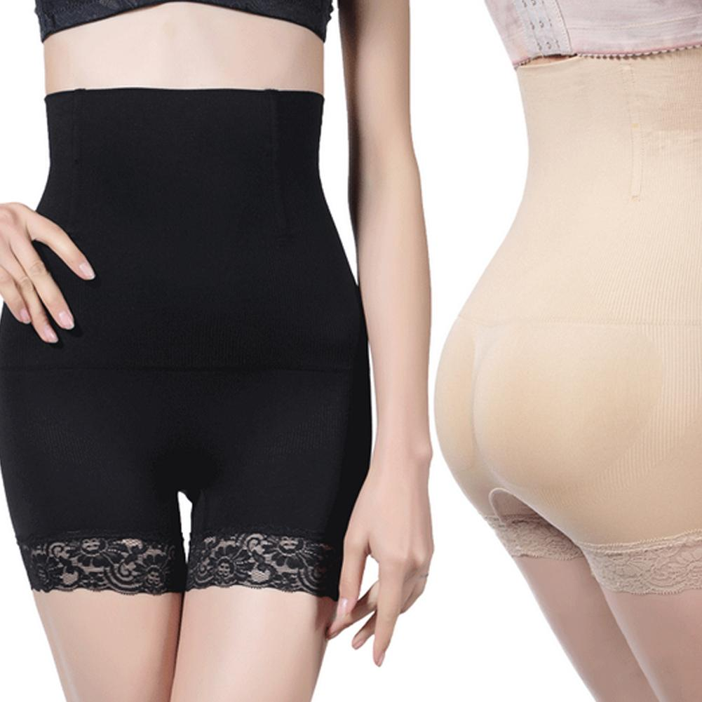 Women Seamless Shapers High Waist Solid Color Tummy Control Body Shapewear Magic Slimming Underwear Corset Pants Fat Burning