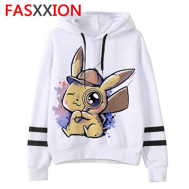 Pokemon gaan Sweatshirt kawaii cartoon mannen/vrouwen pikachu Hoodies Oversized streetwear funny man Tumblr Grunge vintage
