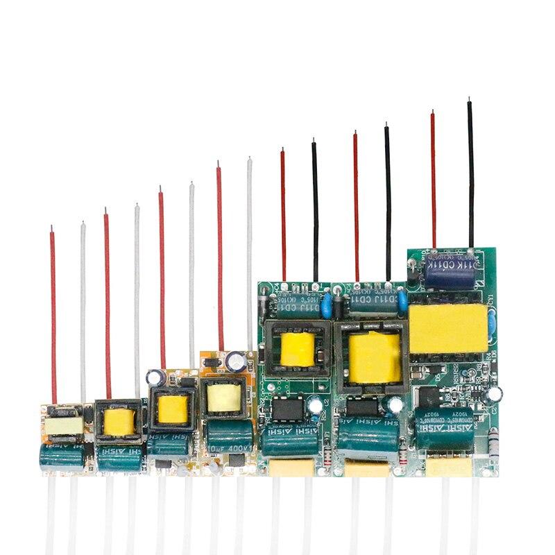 Светодиодный драйвер 300mA доска 8-12 Вт 1-3 Вт, 5 Вт, 4-7 Вт, 12 Вт, 18-25 Вт 25-36 Вт светодиодный Питание блок светильник ing трансформаторы для Драйвер све...