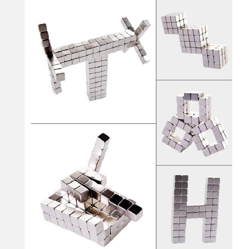 Wholesale Magnet Metal Balls 5mm 216 Pcs/set Magnetic Stick Building Blocks Construction Designer Creative Educational Toys Kids