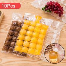 10pcs/Pack Plastic FDA Popsicles Molds Freezer Bags Ice Cream Pop Making Mould DIY Yogurt Summer Drinks Kids Hand Crafts