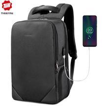 2019 Tigernu male 15.6 laptop backpack usb charge backpacks men female splashproof anti theft travel backpack schoolbag teenager