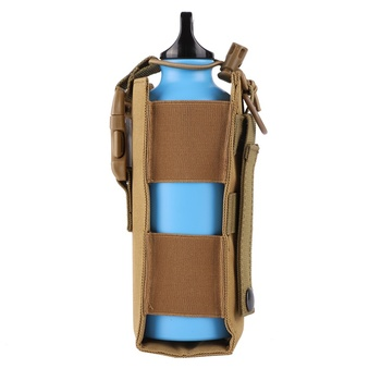 Outdoor Tactical Molle Water Bottle Pouch Holder Military Canteen Cover Holster Cycling Camping Hiking Travel Hunting Kettle Bag hide a beer can cover bottle sleeve case cola cup cover bottle holder thermal bag camping travel hiking accessory 330ml to 500ml