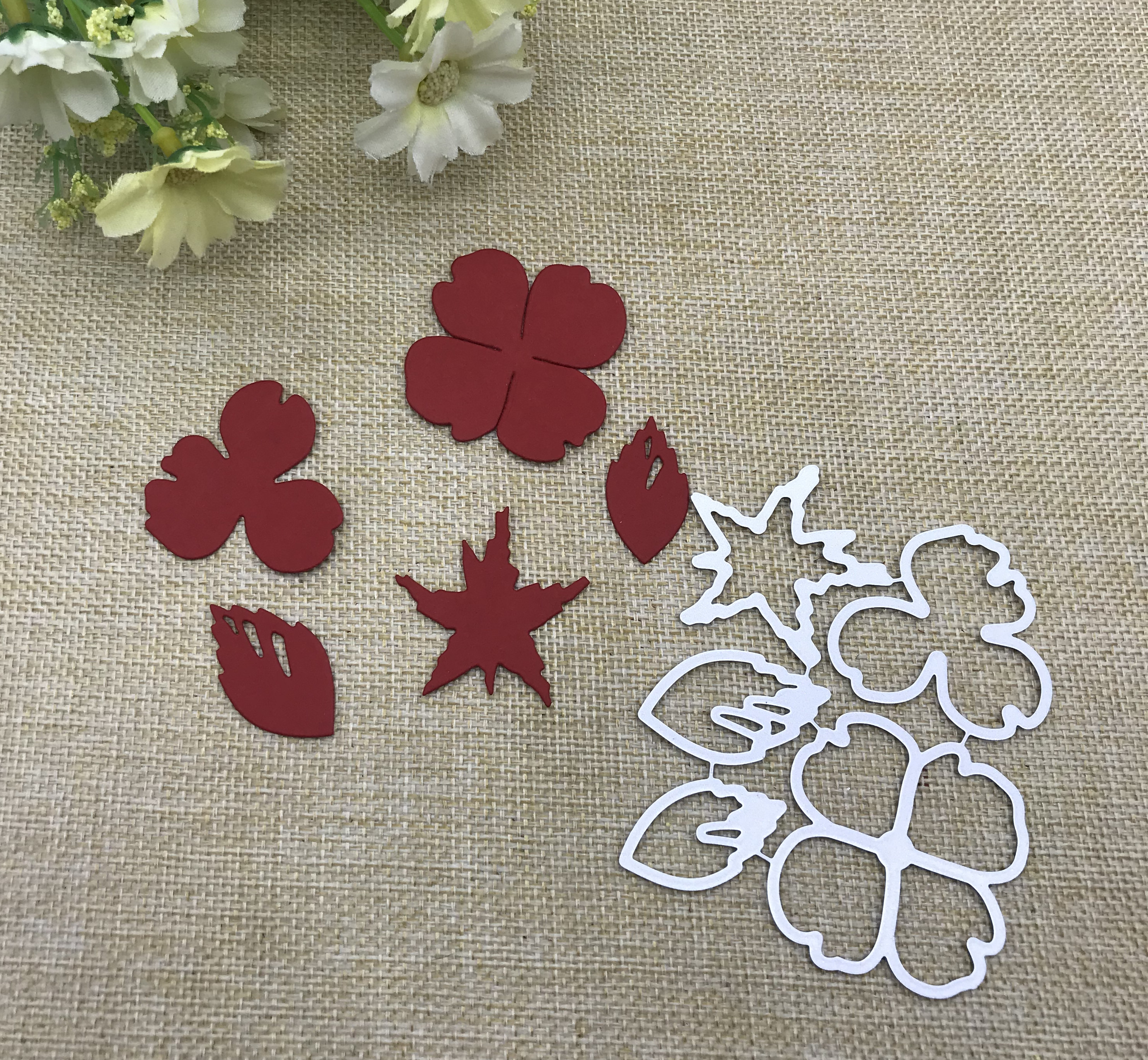 Leaves Frame Metal Cutting Dies Scrapbooking Stencils Album Paper Card DIY Decor