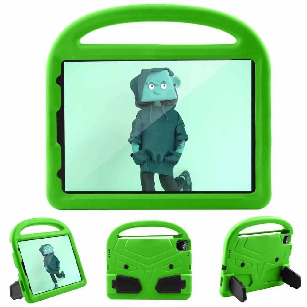 Green Gray Kids Shockproof EVA Case For iPad Pro 11 2nd Gen 2020 Case Cartoon Handle Stand A2228