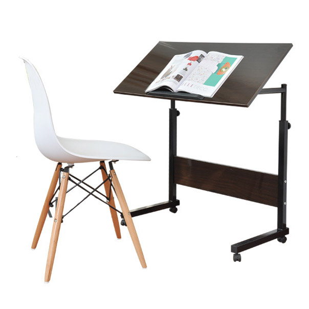Paint Surface Can Be Tilted Laptop Desk Desk Multi-functional Home Simple Lazy Mobile Lift Bedside Table