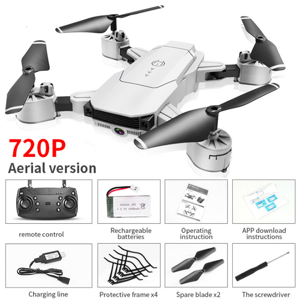720p 1080p WIFI FPV Selfie Gift Aerial HD Camera APP Control Headless Mode RC Drone Helicopters VR Visual Foldable Quadcopter