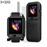 Dropshipping Smart Watch Android 7.1 1+16G/3+32G 4G Video Call 1200mAh Battery Power Bank Sports Heart Rate Monitor