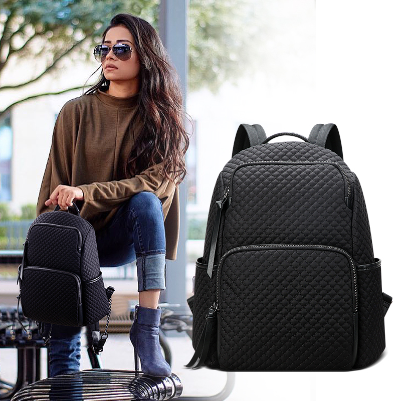 BOPAI Backpack Women 2019 New Fashion Wild Lightweight Travel Large Capacity Backpack Ladies Bags