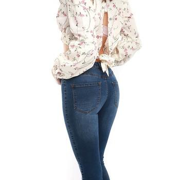 Women's Autumn/Winter Denim Skinny Jeans Elastic