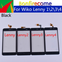10Pcs\lot Touchscreen For Wiko Lenny 1 Lenny 2 Lenny 3 Lenny 4 Touch Screen Panel Sensor Digitizer Glass Replacement Parts