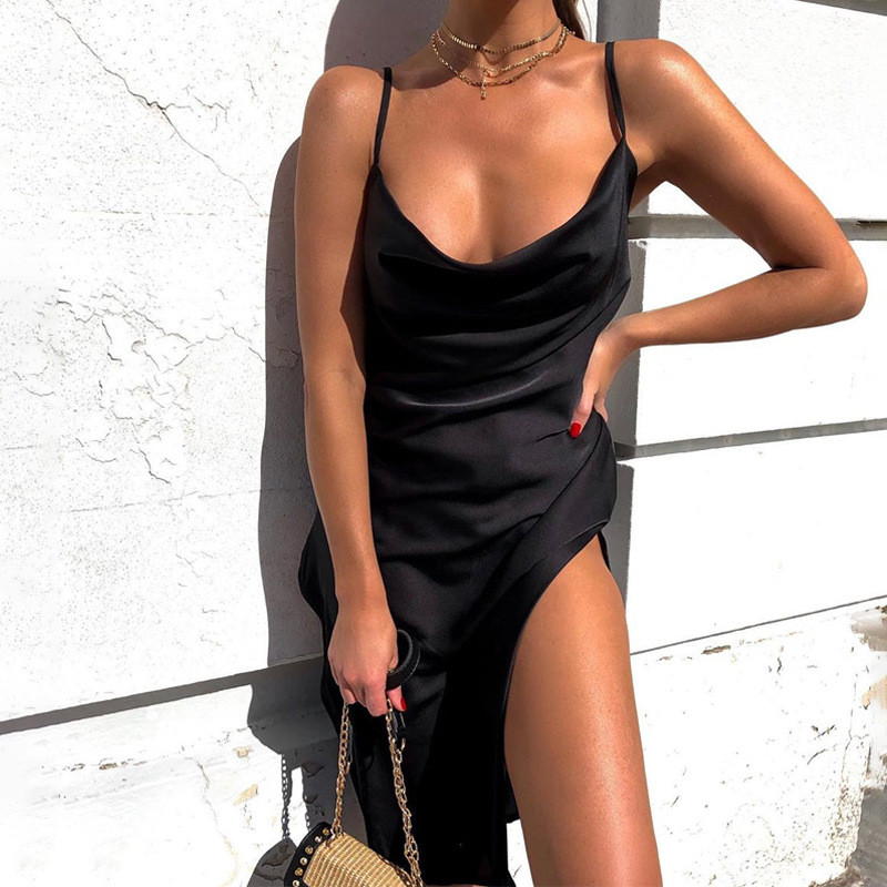slip satin midi dress28