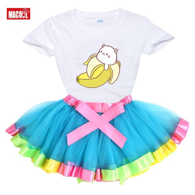 Фото летнее платье пачка для девочек вечерние чная одежда маленьких цена