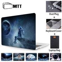 Macbook Air Pro 11 12 13 15 16 터치 바가있는 MTT 케이스 mac book Pro 2020 인치 A2289 커버 용 13.3 노트북 슬리브 쉘
