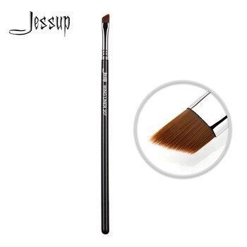 Jessup Eyebrow brush Makeup eye brushes Angled thin Wing eyeliner Makeup tools for Powder, cream, liquid formulas 1