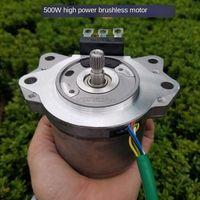 12V 500W High Power Brushless Motor Motor, Spindle, Thruster, Lathe Karting Power