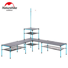 Folding-Table Naturehike Outdoor Camping Barbecue Picnic Ultra-Light Dinner